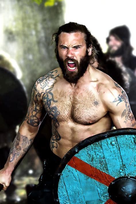 rollo tattoos king rollo on vikings rollo vikings tv series