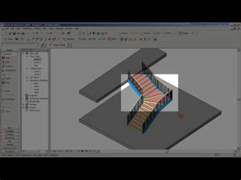 revit tutorial stairs revit stair tutorial with a winder cadclips youtube