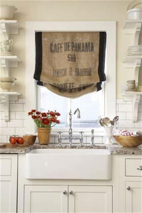 farmhouse kitchen curtains 1000 ideas about burlap kitchen curtains on