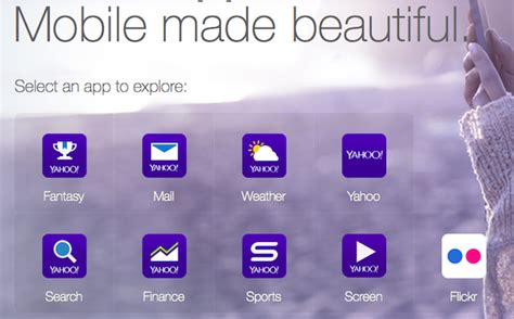 yahoo mobile yahoo mobile apps quietly some noise