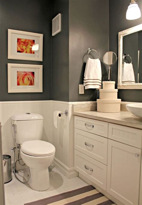 bathroom accent budget bathroom reno two loonies and a penny love the