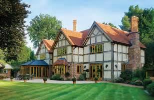 Tutor Style House tudor style self build home self build co uk