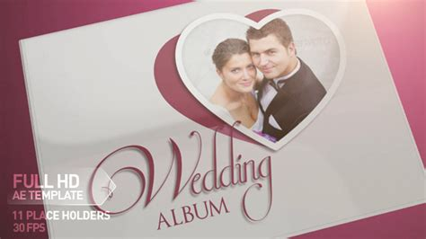 template after effects photo album photo album 7692357 after effects project videohive
