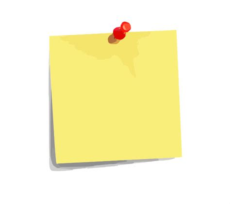 Catatan Tempel Rilakkuma Sticky Notes Reminder Post It Memo Sno009 post it note clip at clker vector clip royalty free domain