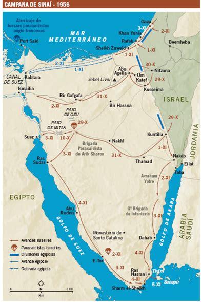 Segunda Guerra 225 Rabe Israel 237 1956 Mapas Hist 211 Ricos S