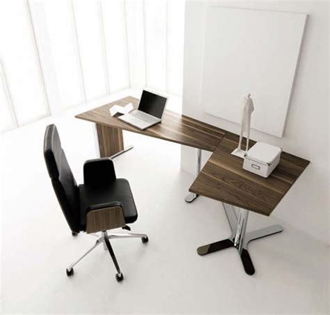 Office Desk And Chair Design Ideas Modern Office Furniture For A Modern Minimalist Office Home Designs Project