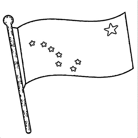 alaska flag coloring page az coloring pages