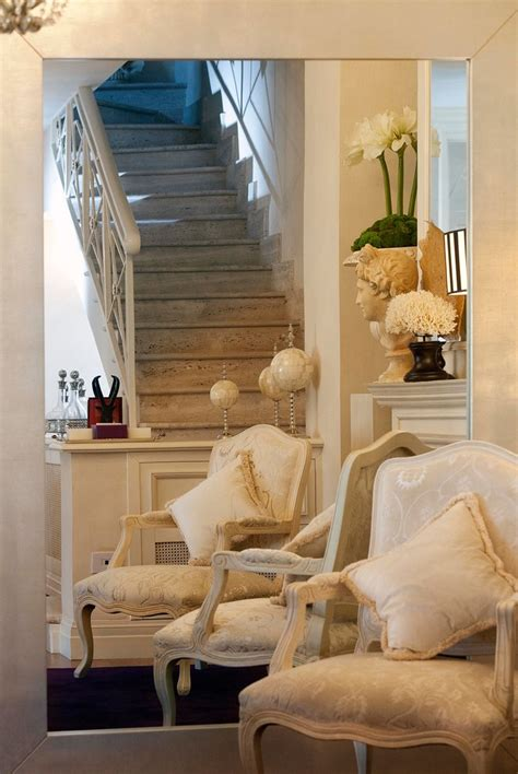 charming shabby chic staircase designs