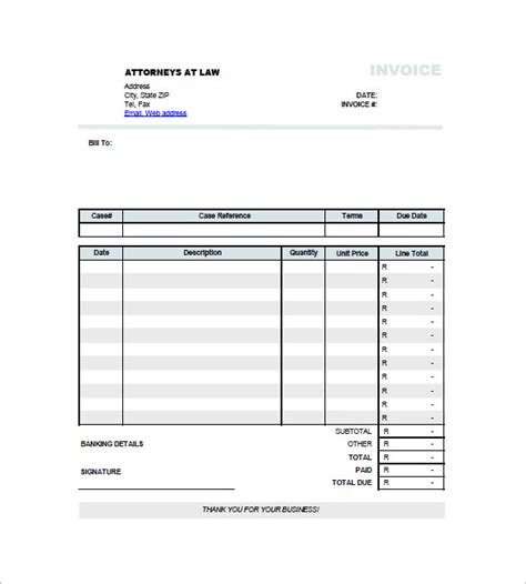 individual invoice ricdesign