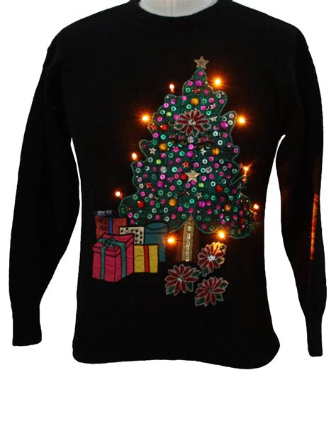 christmas tree jumper with lights 22 stunning christmas jumpers you just cannot miss this