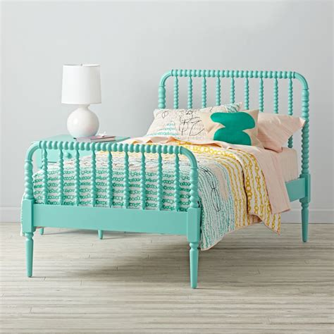 jenny lind bunk bed jenny lind kids bed teal the land of nod