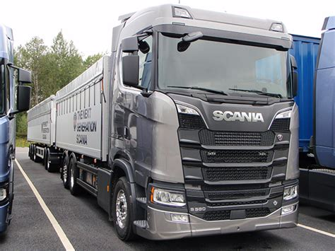 driving the new scanias transport operator transport