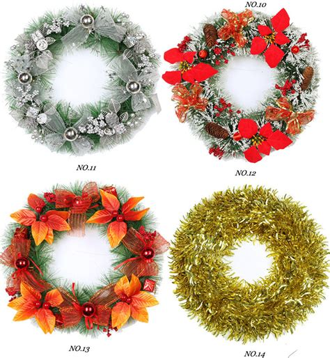 wholesale artificial christmas wreaths buy christmas