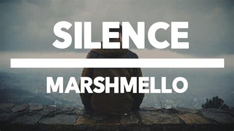 marshmello khalid silence marshmello feat khalid sub espa 241 ol youtube