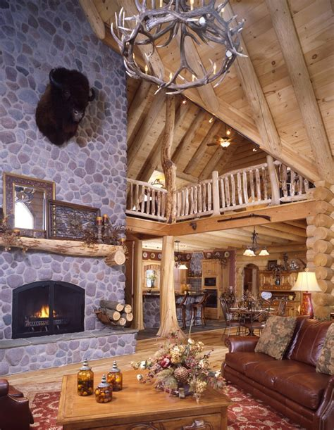 log cabin decorating rustic with l wall decals