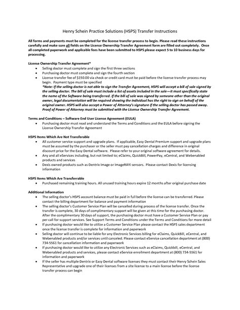 Business Transfer Of Business Ownership Form Business Ownership Contract Template