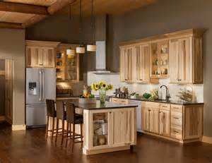 Natural Hickory Kitchen Cabinets 17 Best Ideas About Hickory Cabinets On Pinterest Rustic