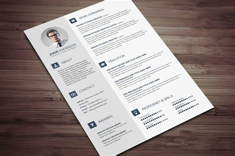 Creative Resume Templates Docx Free Creative Resume Cv Template With Cover Letter And Portfolio Free Psd Files Graphic Web