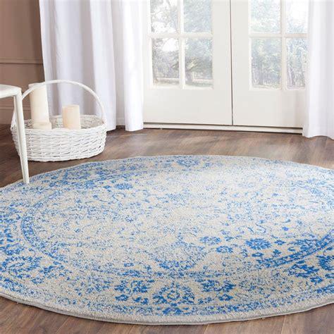 4 ft rug safavieh adirondack grey blue 4 ft x 4 ft area rug