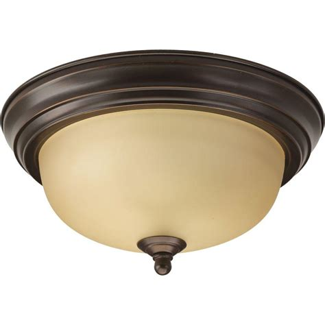 bronze bad light progress lighting 1 light antique bronze flushmount with