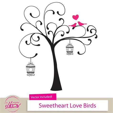 Birds Wedding Clipart by Birds Clipart For Wedding Invitations Wall Digital