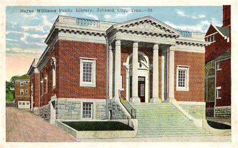 Office Depot Johnson City Tn by Vintage Postcards Johnson City Tennessee Historic