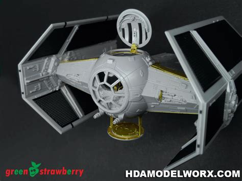 172 Wars Tie Advanced X1 photoetch and resin set for the tie advanced x1 fighter 1