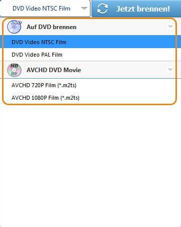 dvd player welches format brennen anleitung video auf dvd brennen brennt avi mp4 wmv