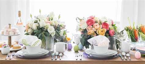 easter decorations and centerpieces crate and barrel