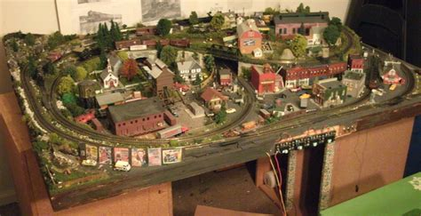 Layout N Scale Train | geoff s n scale model railroad layout great model trains