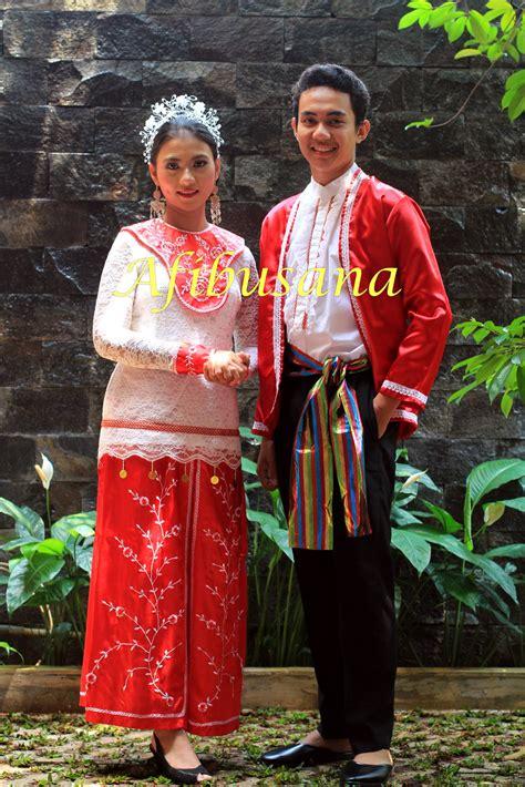 Baju Daerah Madura Anak jual baju adat anak anak bagus baju adat maluku afibusana