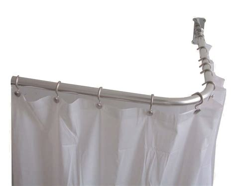 types of shower curtain rods type u shower curtain rod ideas all about house design