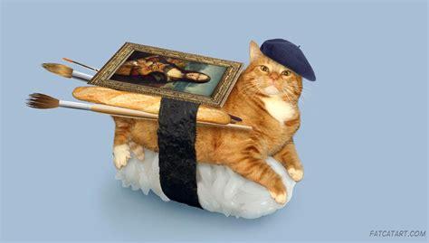 FatCatArt ? Great Artists' Mews » A baguette, a beret and