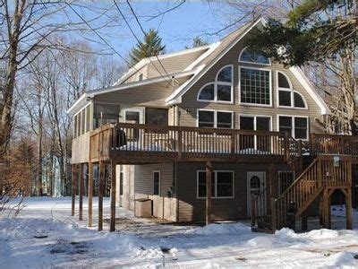Cheap Cabin Rentals In Poconos Pa by Arrowhead Lake Vacation Rental Vrbo 160666ha 4 Br