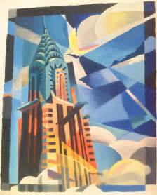 Chrysler Building Painting Chrysler Building By Almu92 On Deviantart