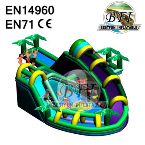 inflatable backyard water park summer giant backyard inflatable water park games for children manufacturer supplier