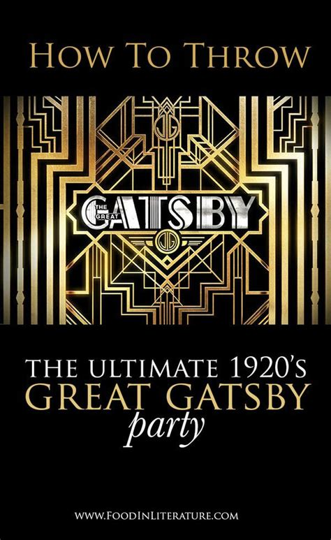 themes of the great gatsby yahoo throw the ultimate 1920 s great gatsby party we ve done