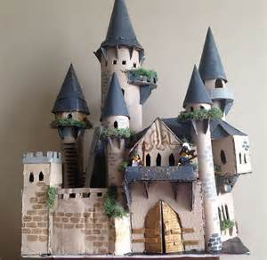 How To Make A Paper Castle Easy - 25 unique cardboard castle ideas on cardboard