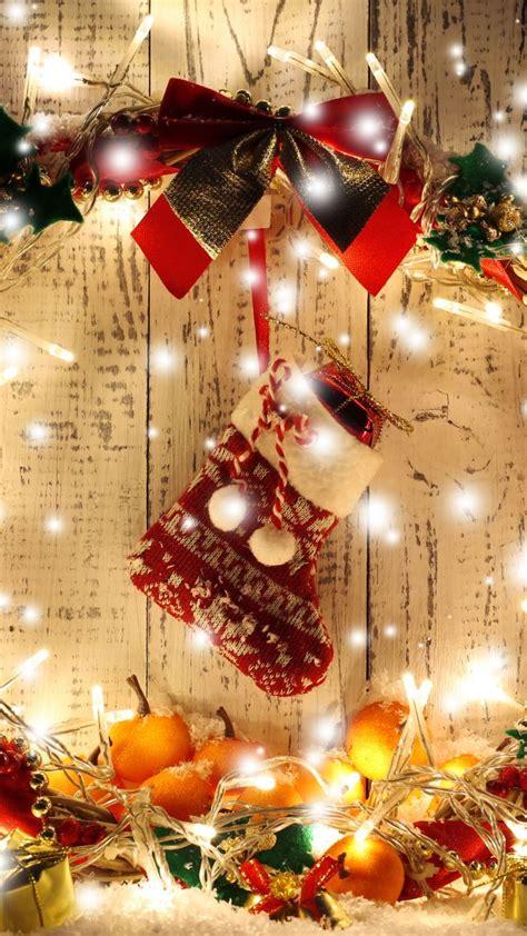 wallpaper christmas  year wreath garland gift balls decorations holidays