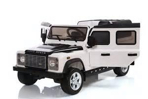 Jeep Defender Land Rover Defender 12v Licensed Electric Ride On Car