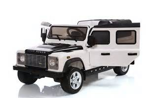 Jeep Land Rover Land Rover Defender 12v Licensed Electric Ride On Car