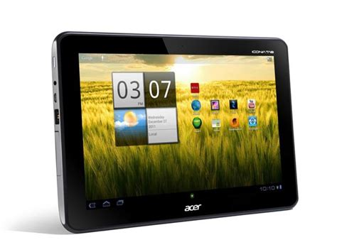 acer android tablet acer iconia tab a200 android tablet gadgetsin
