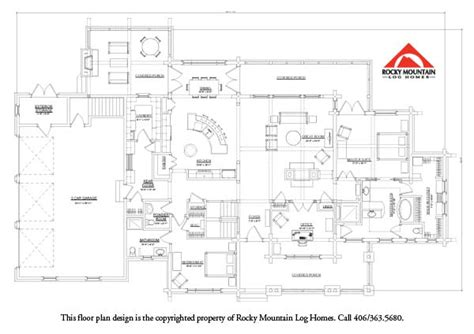single level log home plans best single level log home plan the willow rocky