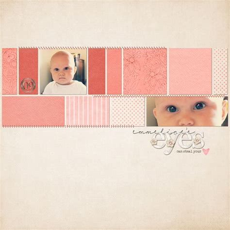 baby scrapbook layout exles 30 best images about scrapbook layouts 2 photos on