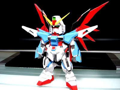 Gundam Papercraft Pdf - papercraft origami and more sd destiny gundam papercraft