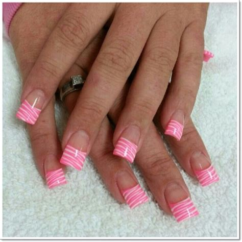 a simple and easy girly zebra nail art design finger 25 zebra print nails design ideas