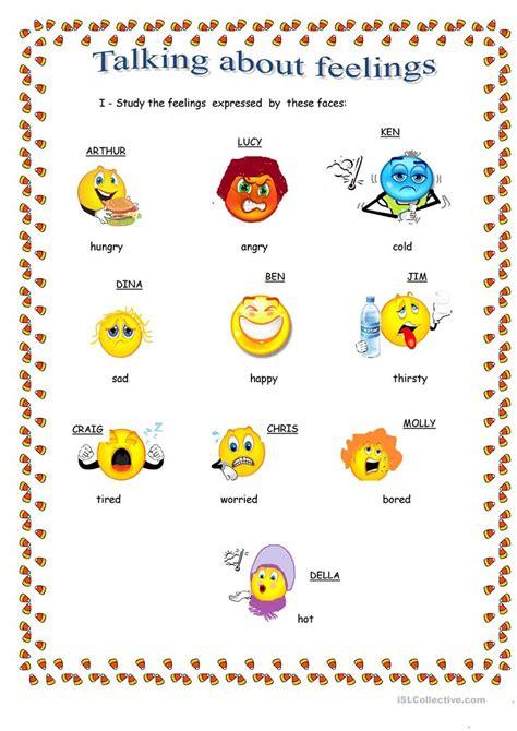 free printable expressing feelings worksheets goodsnyc
