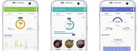 samsung health app samsung s s health app could receive a update when the galaxy s8 launches