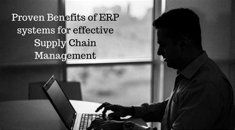ferry viawan proven benefits of erp systems for effective scm