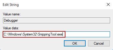 reset snipping tool capture screenshot of lock screen and login screen in